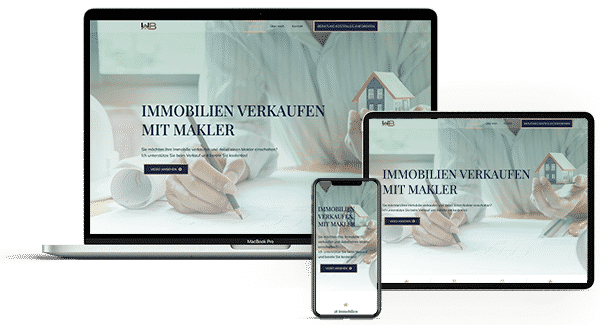Online Marketing Service - Webdesign Bildschirme