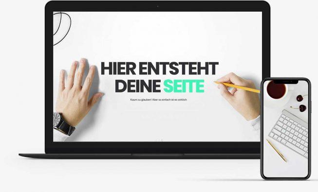 Stark Systems Laptop Webseite